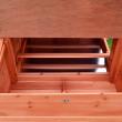 Dřevěný kurník ESSEN, 1980x790x1200 mm