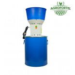 AGROFORTEL Elektrický šrotovník na obilí AGF-60 | 1,2 kW, 60 litrů
