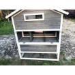 Dřevěný kurník PEKING, 1860 x 960 x 1170 mm