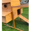 Dřevěný a maxi kurník PAŘÍŽ, 3100x1500x800 mm