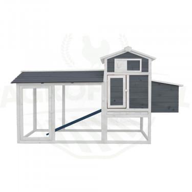 Dřevěný kurník HAMBURG, 2045x765x1165 mm