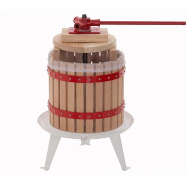 Dřevěný LIS NA OVOCE - moštovač - 18 litrů
