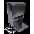 Nášlapné krmítko AGROFORTEL - 40 litrů, šetří krmivo, kvalitní provedení