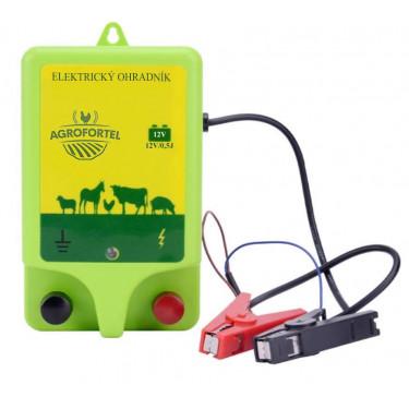Zdroj elektrických impulzů pro elektrický ohradník - 0,5 J. Pro bateriový zdroj. Ohrada 5 km.