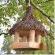 Dřevěné ptačí krmítko Sweet home