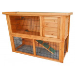 Dřevěná králíkárna SYDNEY, 1115x450x803 mm
