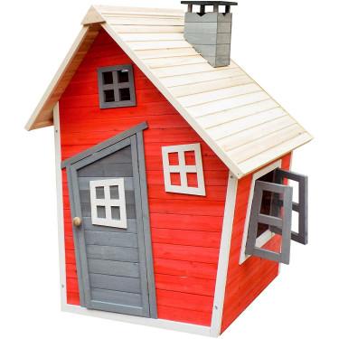 Dětský dřevěný domek Karlík, 120 x 102 x 154 cm