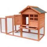 Dřevěný kurník PRAHA, 1220x630x920 mm