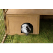 KERBL výběh pro králíky, odklopný s domečkem, 220 x 115 x 75 cm