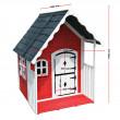 Dětský dřevěný domek Červená Karkulka, 115 x 125 x 140 cm