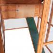 Dřevěný kurník BRUSEL, 1900x1240x1480 mm
