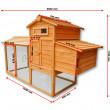 Dřevěný kurník AMSTERDAM, 2045x765x1165 mm