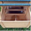 Dřevěný kurník BERLIN XXL, 1900x670x1170 mm