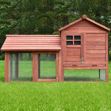Dřevěná králíkárna BEROUN, 1560x880x980 mm