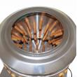 Bubnová škubačka na drůbež BRM750 - křepelky, holoubata, kuřata - do 2 kg