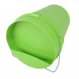Kbelíková napáječka plastová - 5,5 l - zelená