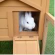 Dřevěná králíkárna BOSKOVICE, 1470x530x850 mm