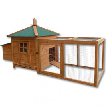 Dřevěný kurník DUBAI, 1650 x 735 x 980 mm