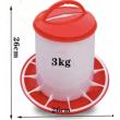 Krmítko pro drůbež tubusové - 3 kg