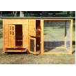 Dřevěný kurník TEMELÍN, 1600x750x800 mm