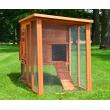 Dřevěný akční kurník VALENCIE XL, 1820x1030x750 mm