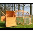 Dřevěný kurník VÍDEŇ, 1720x760x1020 mm.