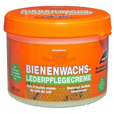 Krém na kůži, s obsahem včelího vosku, 500 ml