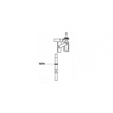 Těsnění přepínacího kolíku k medikátoru dosatron D25RE2