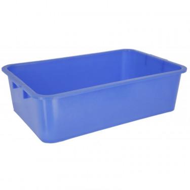 Univerzální vana desinfekční plastová modrá, 63 x 39 x 17 cm, 40 L