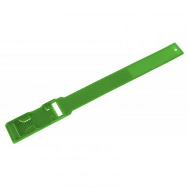 Páska značící na nohy s čísly, pro skot, zelená, 37 x 3 cm