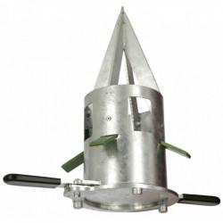 Davkovač pro pytle Big Bag, pozinkovaný kov, průměr 21 cm