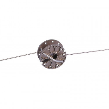 Napínák drátu pro elektrický ohradník, průběžný, kolečkový