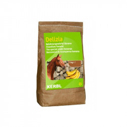 Pamlsek pro koně DELIZIA, banán, 1 kg