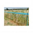 Síť pro elektrické ohradníky proti divoké zvěři Wildnet 90 cm, 50 m, 1 hrot, modrá