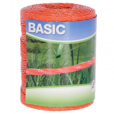 Lanko BASIC pro el. ohradník 500 m, 3x FeSn 0,16 mm, oranžové