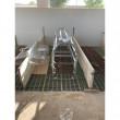 Mobilní budník pro selata dvoumístný, transparentní, 50 cm