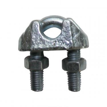 Spojka na lanko pro elektrický ohradník, pozinkovaná, 1,5 - 2 mm