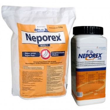 Neporex 2 SG - insekticid, larvicid k hubení larev much
