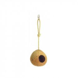 Hnízdo pro ptáky, kokos, průměr 12 cm
