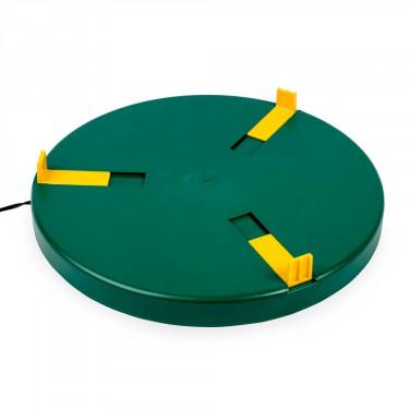 Topná vyhřívací deska pod napáječku - průměr až 30 cm