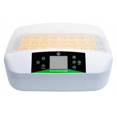 Automatická digitální líheň YZ32S s LED držáky. Pro 32 vajec.